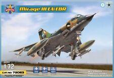 Modelsvit 72063 1:72nd scale Dassault Mirage III EA/EBR (6 Camo Schemes)