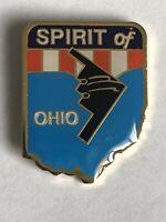 B-2 Stealth Bomber Spirit of Ohio Lapel/Hat Pin Back