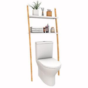 Regal Badregal Toilettenregal Waschmaschinenregal für Badzimmer WC 173x66x25 cm