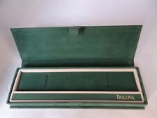 Bulova  Watch Box Vintage 1970's