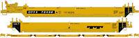 Athearn HO Scale Maxi I/Early Intermodal Well Car Trailer Train/TT #73438