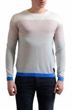 Fendi Men's 100% Wool Striped Crewneck Light Sweater Size XS s