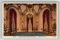 International Eastern Star Temple, Chapel Washington DC Linen Postcard