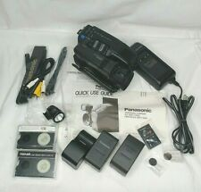 Panasonic PV-IQ403 VHSC and Accessories w/ Cables