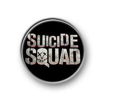 "SUICIDE SQUAD / 1"" / 25mm pin button / badge / DC comics / antihero / Deadshot"
