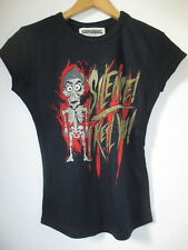 T SHIRT FEMME NEUF ACHMED  SILENCE I KILL YOU  TAILLE S MADE IN UK PAR SANDBAG