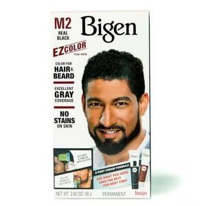 BIGEN EZ COLOR FOR MEN HAIR & BEARD COLOR # M2 Real Black