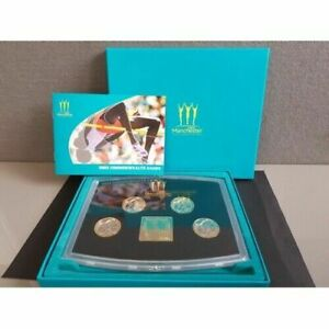 2002 Commonwealth Games £2 Pound Manchester Proof Boxed Coin Set &  Cert of Auth