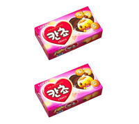 Korean Snack LOTTE KANCHO 40g x 2Pack Crispy and Delicious Choco Ball Snack
