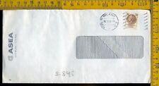 Repubblica francobollo siracusana perfin ASEA o S 846