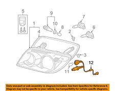 TOYOTA OEM 06-09 4Runner Headlight Head Light Lamp-Socket & Wire 8112535440