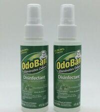 OdoBan 4 oz Eucalytpus Fabric Air Freshener Disinfectant Kills 99.99% Germs 2 Ct