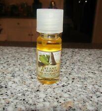 Bath Body Works Slatkin & Co Creamy Pumpkin Home Fragrance Oil 0.33 fl oz New