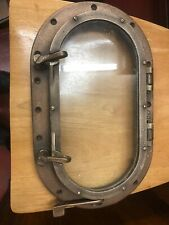 Antique Oval Bronze Portholes Beautiful Vhtf