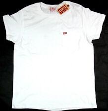 Levi's LVC Levis Vintage Clothing T Shirt 1950´s Tee White Levis Made USA Levi