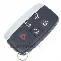 New Replacement Smart Remote Key Shell Case Fob 5 Button for JAGUAR XJ XJL XF