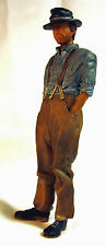 WORKER NUMBER 1 Large Scale G F 1:20.3 Model Railroad Painted Figure FGGRL01A