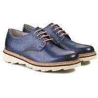Clarks Mens ** Frelan Walk ** Burnished blue leather , Light ** UK 6.5,7,8,8.5 G