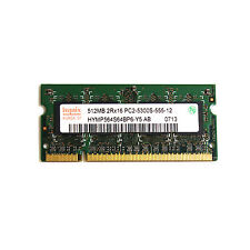 Hynix 512MB PC2-5300S Memory Module HYMP564S64BP6-Y5 204 Pin