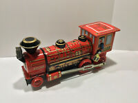 1960's Vintage Battery Working Train Made in Japan Moving Parts Sounds Tin Toy
