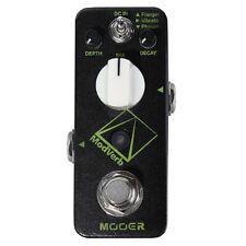 Mooer Modverb Digital Reverb Guitar Effect Pedal Stompbox Flanger Vibrato Phaser