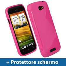 Custodie preformate/Copertine rosa per HTC One S