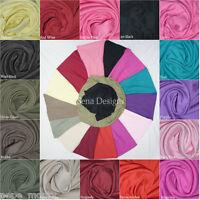 Clearance 100% COTTON stretch fabric INTERLOCK jersey PLAIN material PLINT1383