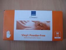 Medical Vinyl Schutz Handschuhe Gr M 100 stck Neu OVP Latexhandschuhe Latex frei