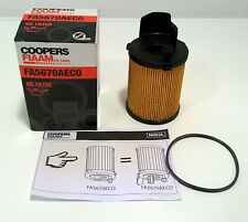 COOPERS FIAAM FA5670AECO OIL FILTER BMW MINI 1.6D ONE, 1.6D COOPER, 1.6D CLUBMAN