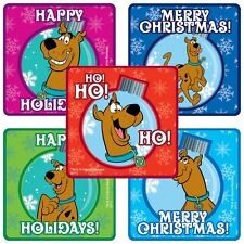 "25 Scooby Doo Christmas / Holiday Stickers, 2.5""x2.5"" each, Party Favors"