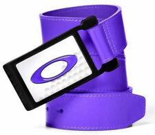 Oakley Men's Ellipse 2.0 Leather Golf Belt - Royal Purple (Small)