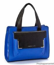 NEW Claudia Ciuti Cozza Genuine Leather Handbag - Capri Multi - Blue