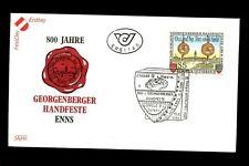 Austria 1986 Georgenberg Treaty FDC #C3250