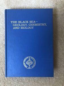 The Black Sea - Geology, Chemistry And Biology. Hardback, Used VGC