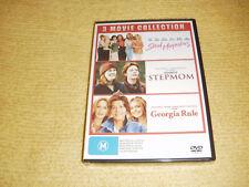 STEEL MAGNOLIAS + STEPMOM + GEORGIA RULE = 3 DVD NEW & SEALED comedy romance R4