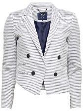 22/16 NEU ONLY Damen kurz Blazer Jacke onlCLARINE L/S BLAZER WVN Gr. 38