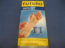 Futuro Deluxe Wrist Stabilizer Large-XL Right Hand 90996 Carpal Tunnel Syndrome