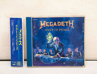 MEGADETH - Rust In Peace - 1990 1st Press Japan CD TOCP-6252 w/Obi