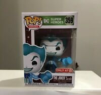 FUNKO POP! THE JOKER AS JACK FROST DC COMICS HOLIDAY TARGET EXCLUSIVE