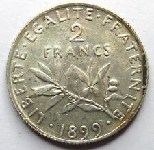 2 Francs - Semeuse - 1899 - QUALITE