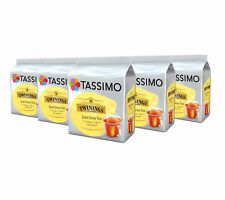 TASSIMO Twinings Earl Grey Tea Capsules Pods Refill T-Discs Pack of 5, 80 Drinks