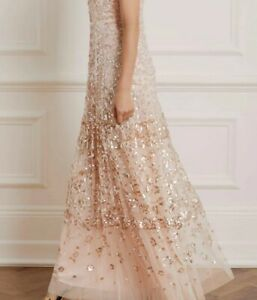 BHLDN Needle & Thread Dress Gown size US 6 $629