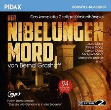 Der Nibelungen Mord - Kriminal Hörspiel (Pidax Klassiker)  mp3-CD/NEU/OVP