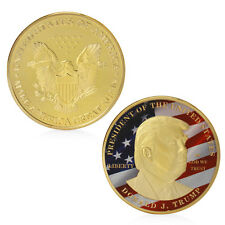 Golden Donald Trump Make America Great President Commemorative Challenge Coin