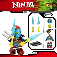 Ninjago Nya ZX Sword Master of Spinjitzu Lloyd Ninja Custom Lego Mini Figure
