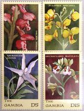 GAMBIA 2001 4343-58 Block 555-56 Orchideen Orchids Blumen Flowers Flora MNH