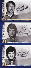 09-10 ITG Lowell MacDonald Auto 1972 The Year In Hockey Penguins 2009