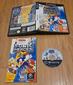 Sonic Heroes - Nintendo Gamecube. Complete with manual. PAL  Fast Dispatch !!