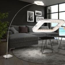 Design LED Steh Decken Fluter Leuchte Bogen Teleskop Stand Lampe dimmbar Chrom