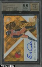 2016 Elite Orange Emmanuel Ogbah RC Rookie AUTO 4/10 Browns BGS 9.5 w/ 10